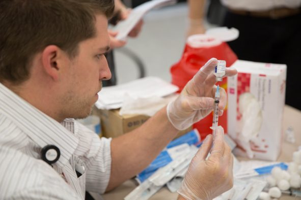 U students can receive flu shots free of charge.