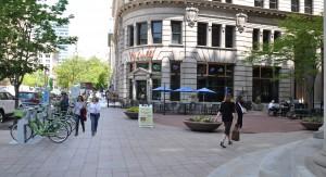 High quality streetscape in Salt Lake City (357 Main Street)