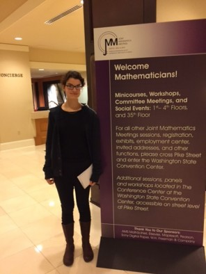 Math senior Mackenzie Simper is the first U student to receive the Churchill Scholarship.