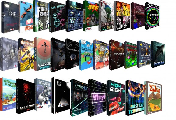Thirty games published by the EAE program.