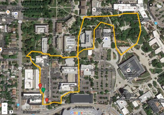 100 Mile Spirit Run Loop