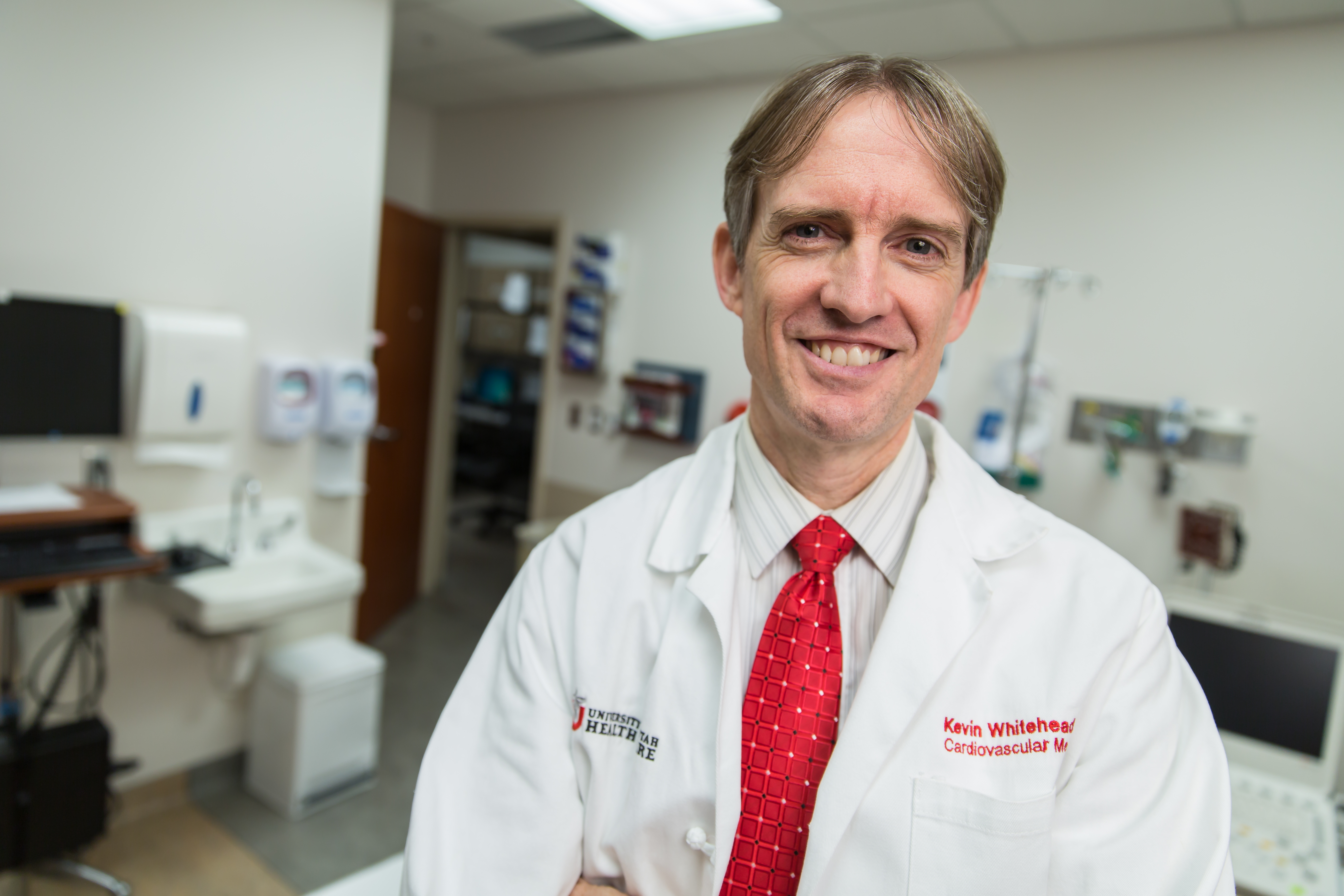 Kevin Whitehead, M.D., F.A.H.A., associate professor of internal medicine at the University of Utah School of Medicine and director of the Utah HHT Clinical Center