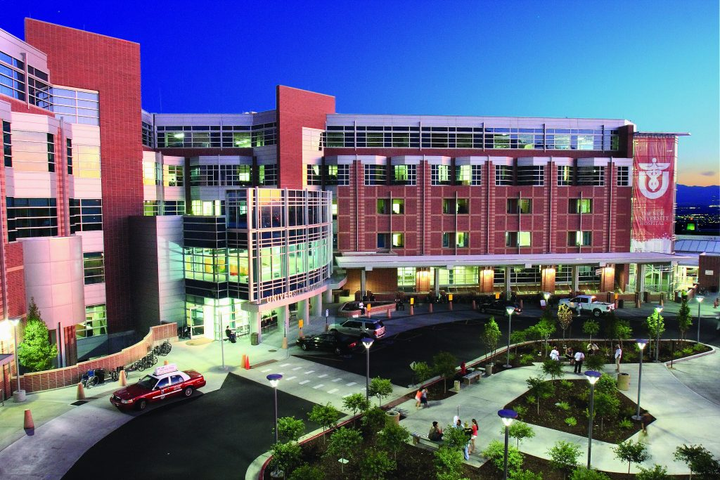 University of Utah Hospital, one of University of Utah Health Care's 4 hospitals and 12 community clinics