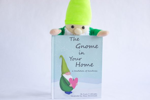 The gnomes teach children a tradition of kindness