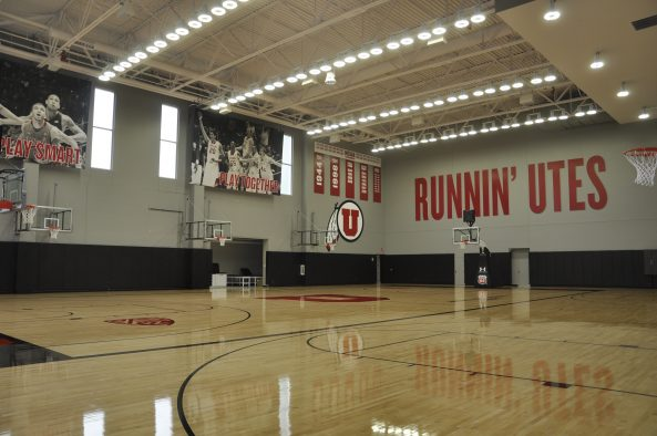 The Jon M. and Karen Huntsman Basketball Facility is LEED Gold Certified.