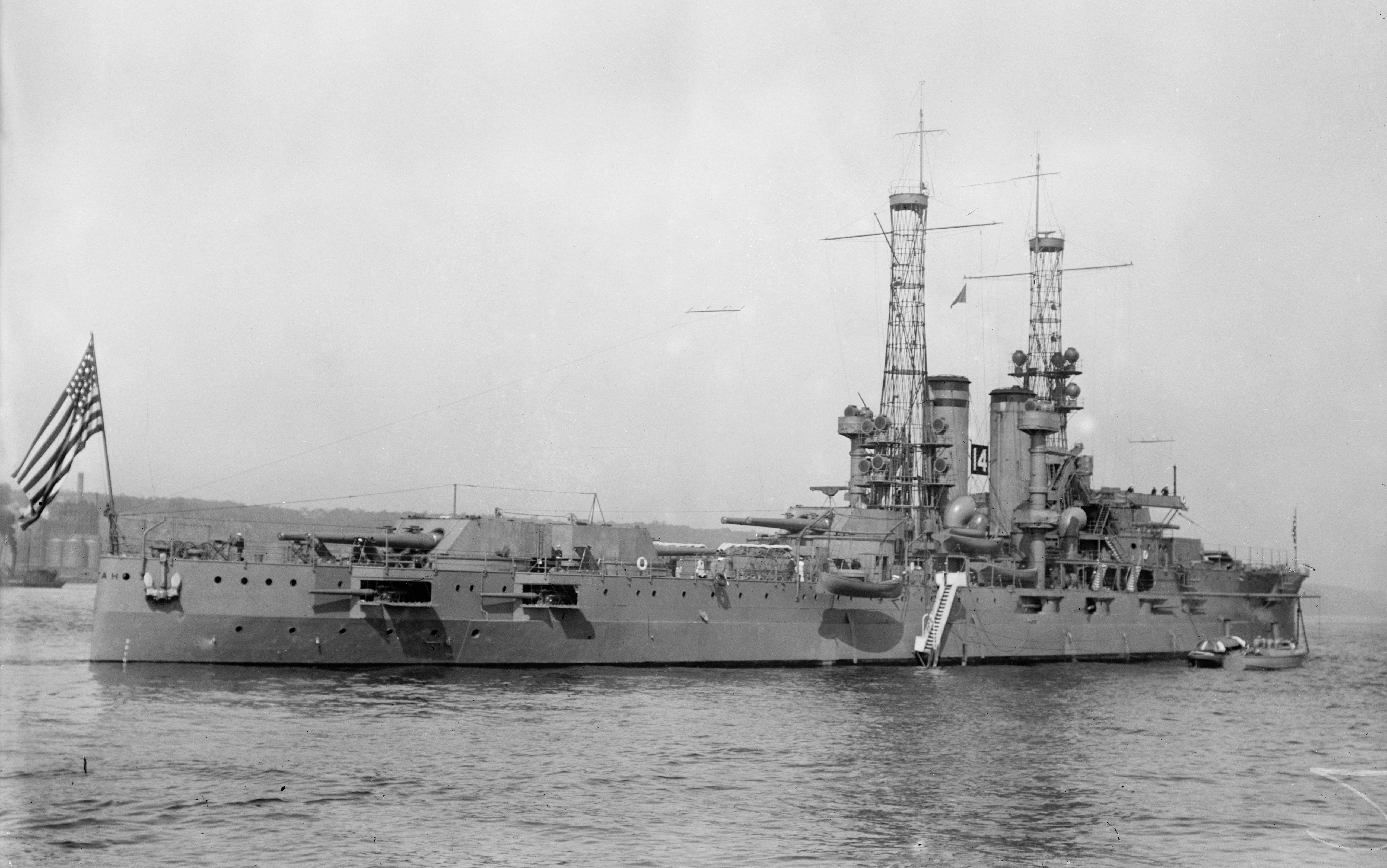 The USS Utah.