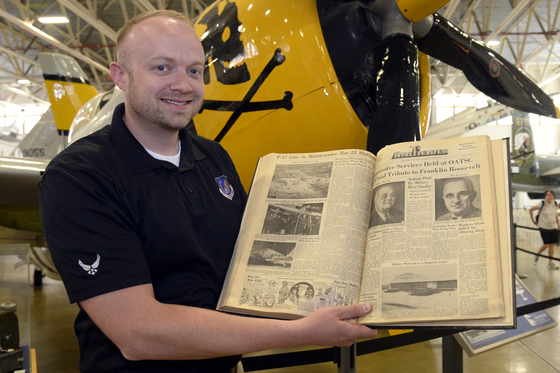 Documenting 75 years at Hill Air Force Base   UNews